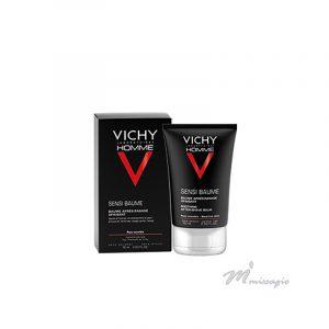 Vichy Homme Sensi-Baume Mineral Ca Bálsamo após Barbear Fortificante 75ml