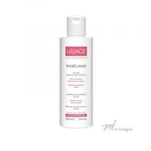 Uriage ROSÉLIANE Fluide Dermo-Nettoyant - Cuidado de Limpeza 250ml