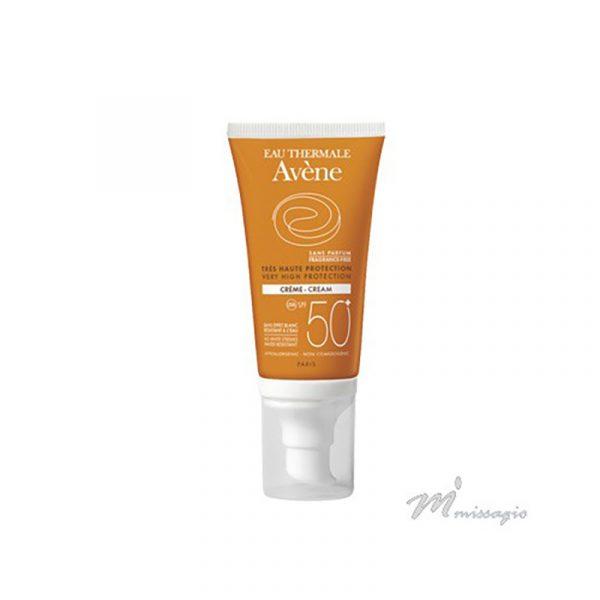 Avène Solar Creme Rosto FPS 50+ Sem Perfume 50ml