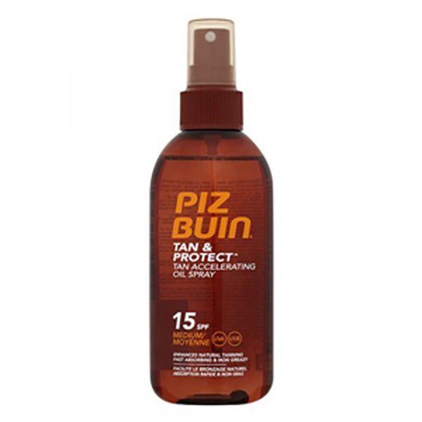 Piz Buin Tan & Protect SPF15 Óleo 150mL