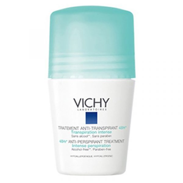 Vichy Desodorizante Antitranspirante 48H Roll-On 50mL