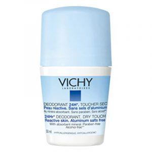 Vichy Desodorizante Sem Sais de Alumínio 24H Roll-On 50mL