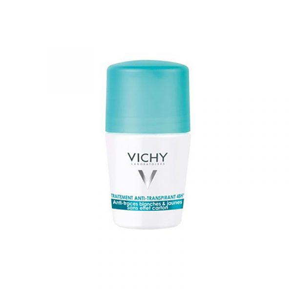 Vichy DESODORIZANTE Antitranspirante 48h Antimanchas RollOn 50ml