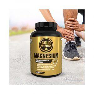 GOLD NUTRITION Magnésio 600mg 60cápsulas