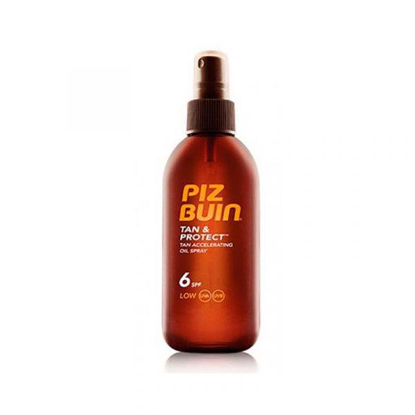 Piz Buin Tan & Protect FPS 6+ Óleo 150mL