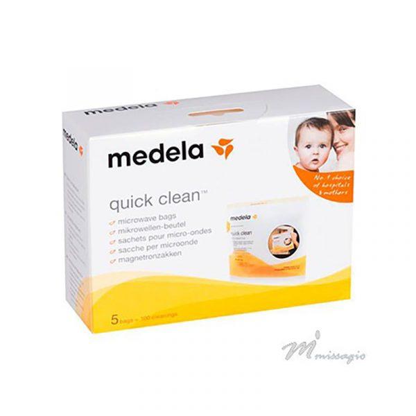 Medela Saco de Esterilização Para Microondas Quick Clean x5