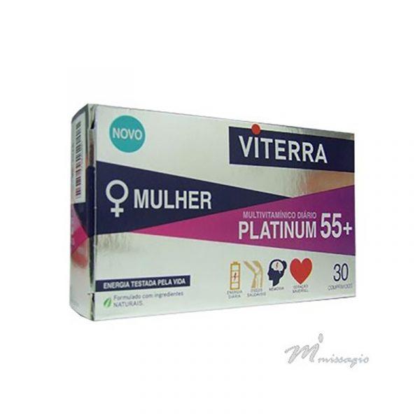Viterra Mulher Platinum 55+ 30 Comprimidos