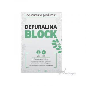 Depuralina BLOCK Fórmula BLOCK Hidratos de Carbono|Gorduras 60 cápsulas