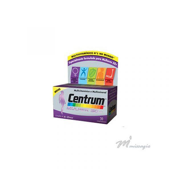 Centrum Mulher 50+ Muitivitamínico e Multimineral 30 comprimidos