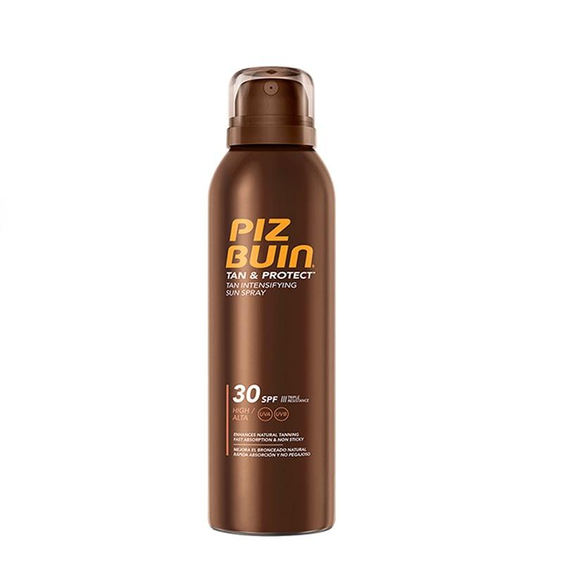 Piz Buin Tan & Protect Spray Solar Intensificador de Bronzeado 150mL FPS 30+