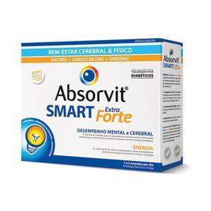 Absorvit Smart Extra Forte - Tónico Cerebral e Físico