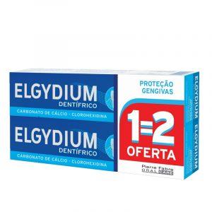 DUO Elgydium Pasta Dentífrica Proteção Gengivas 75ml