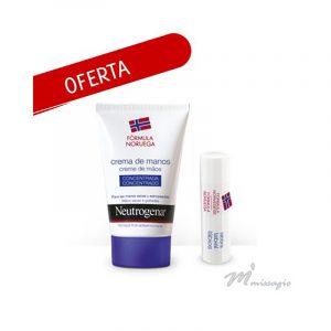 Neutrogena Creme de Mãos Concentrado 50mL OFERTA Neutrogena Stick Labial 4,8g
