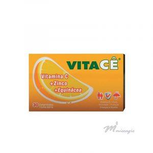 Vitacê Echinacea + Vitamina C + Zinco + Prebióticos 30 comprimidos