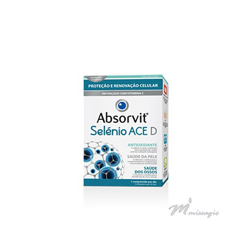 Absorvit CoQ10 + B1 + E - Metabolismo Energético 30 cápsulas