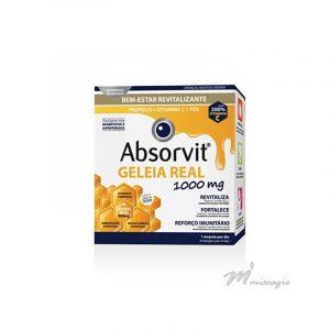 Absorvit Smart Extra Forte - Tónico Cerebral e Físico 20 ampolas