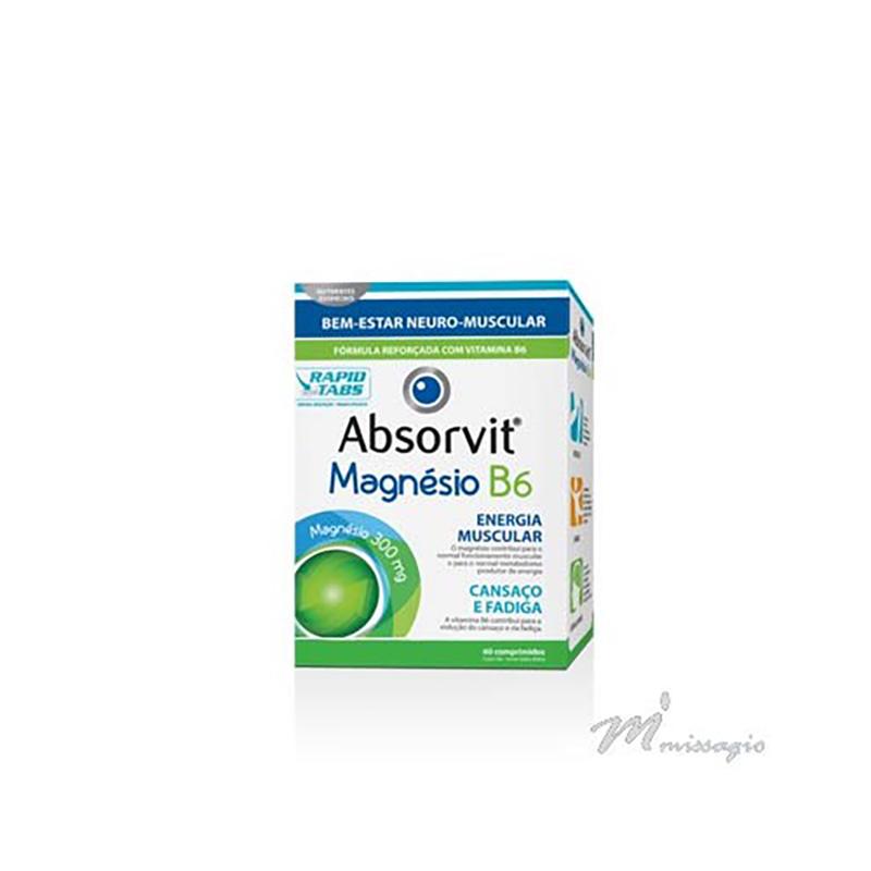 Absorvit Ginkgo Biloba + B1 60 comprimidos