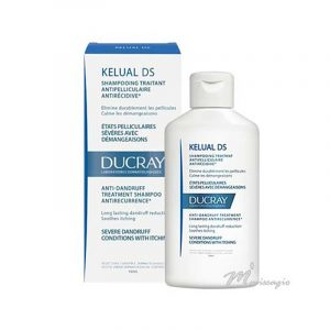Ducray Cabelo Kelual Ds Champô - Dermatite Seborreica 100ml