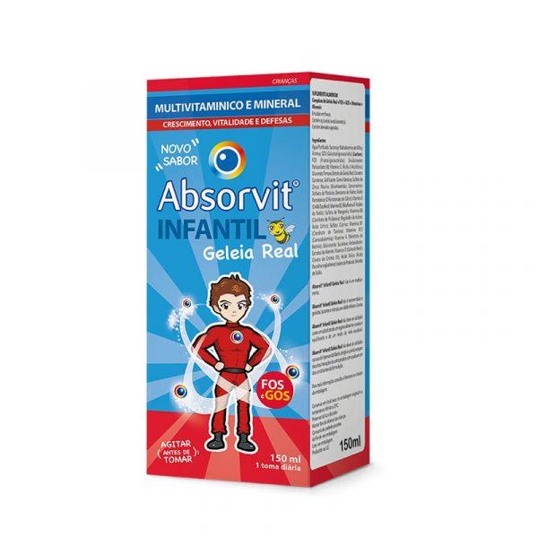 Absorvit Infantil Multivit Geleia Real com FOS e GOS 150ml