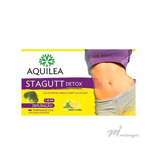 Aquilea STAGUTT DeTox 20 ampolas 15ml