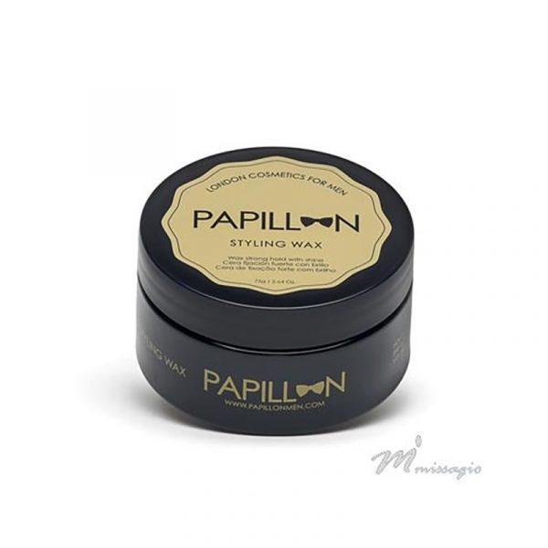 Papillon London Cosmetics for Men Styling Wax - Cera Cabelo Fixação Forte 75ml