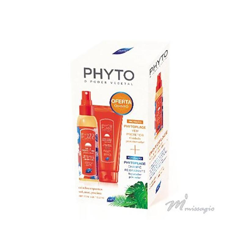 Phytoplage Coffret Véu Protetor Solar 150ml + Champô Reidratante 200ml