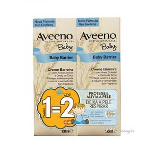 Aveeno Baby Creme Barreira 100ml DUO