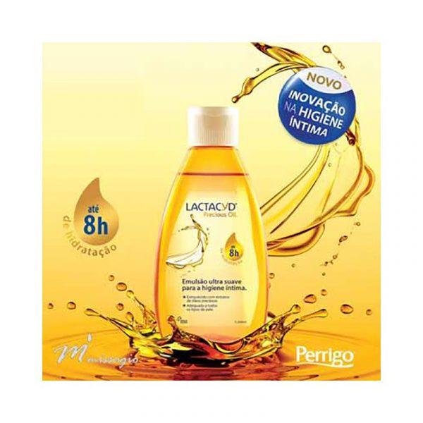 Lactacyd Precious Oil Emulsão Ultra Suave Higiene Íntima 200ml