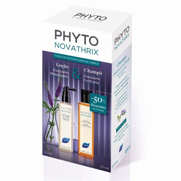 Phytonovatrix Spray Loção Energizante Massa Capilar + Phytonovatrix Champô