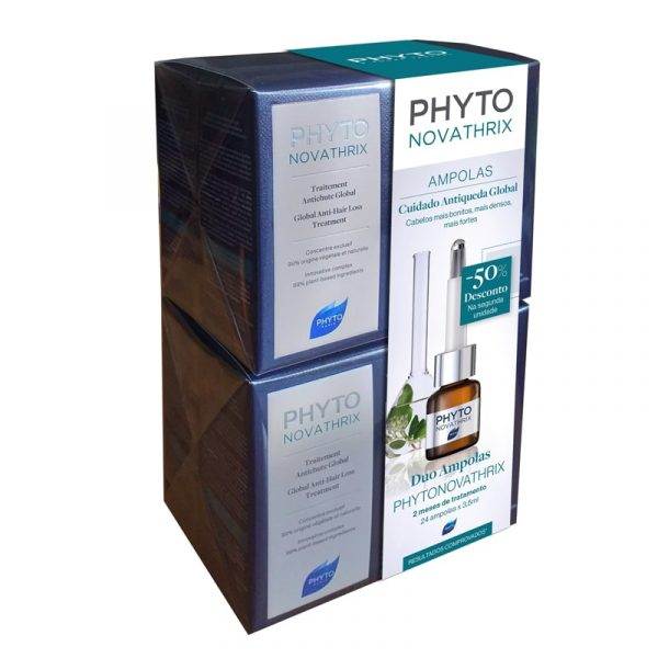 DUO Phytonovatrix Ampolas Cuidado Antiqueda Global 12x3.5ml