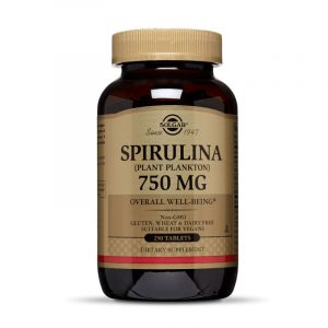 Solgar Spirulina 100 cápsulas