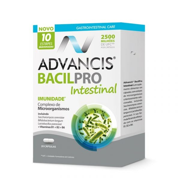 Advancis Bacilpro Intestinal 10 cápsulas