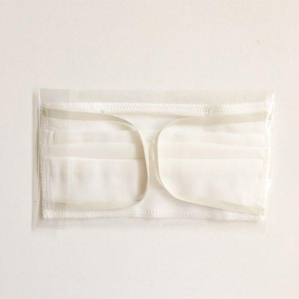 Máscara de Proteção Lavável 3 camadas parte de trás