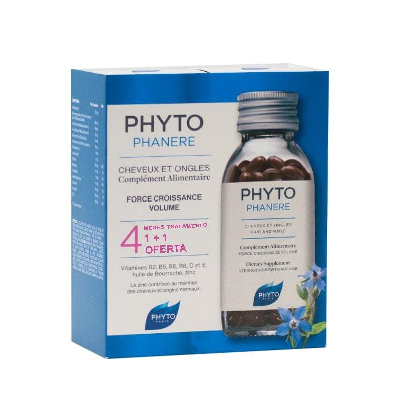 Pack OFERTA Phyto Phytophanère Suplemento Alimentar Unhas Cabelo