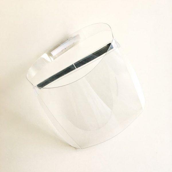 Viseira de Proteção Facial em Plástico