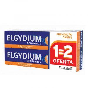 DUO Elgydium Pasta Dentífrica Proteção Caries 75ml