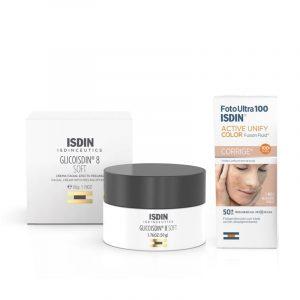 Compre 1 Glicoisdin Creme Facial + 1 Active Unify e obtenha 20% de desconto.
