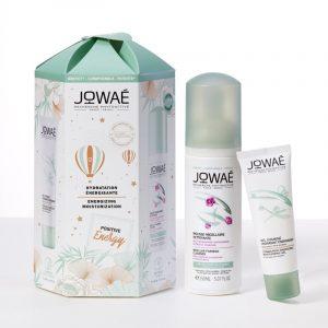Coffret Jowaé Positive Energy Gel Vitamindado + Leite Desmaquilhante