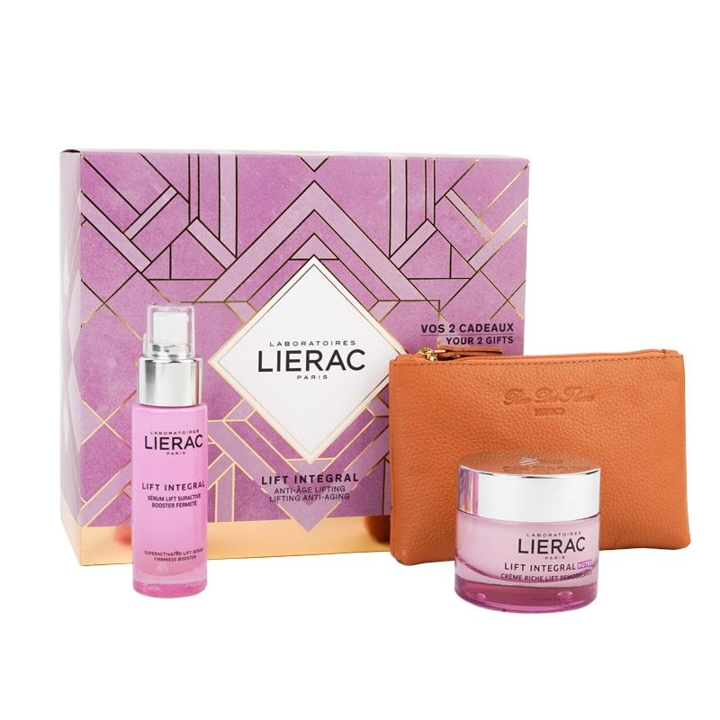 Coffret Lierac Lift Integral Sérum + Creme Tensor NUTRI + Carteira Rue De Fleurs - Mónaco