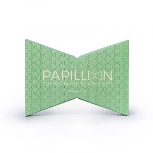 Coffret Papillon London Cosmetics for Men Sérum Beard & Skin + Hydracolor + Pulseira Caixa