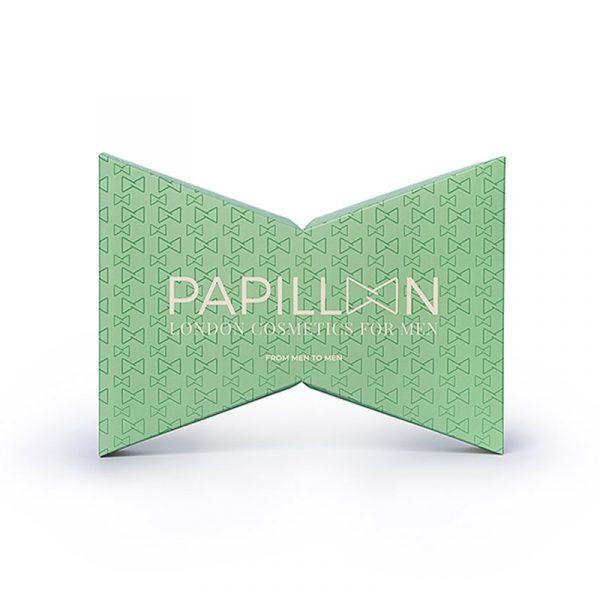 Coffret Papillon London Cosmetics for Men Sérum Beard & Skin + Hydracolor + Pulseira Caixa