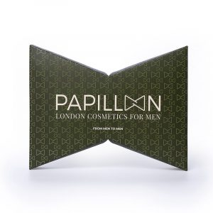 Papillon London Cosmetics for Men Upton Eau de Parfum + Anti-Age + Pulseira Caixa