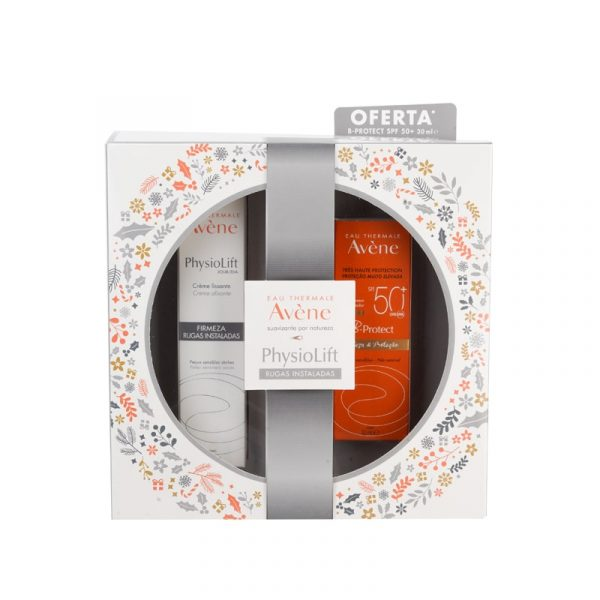 Coffret Avène Physiolift Creme Reestruturante Dia OFERTA B-Protect FPS 50+