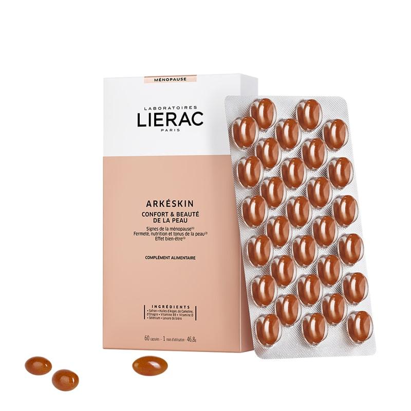 Lierac Arkéskin Suplemento Alimentar Conforto e Beleza da Pele 60 Cápsulas