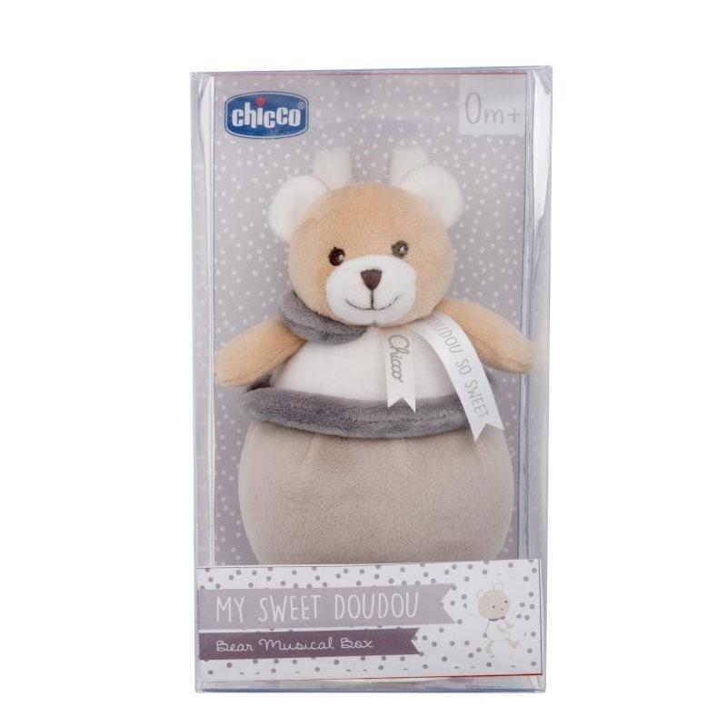 Chicco Brinquedo Caixa de música ursinho DouDou 0+M