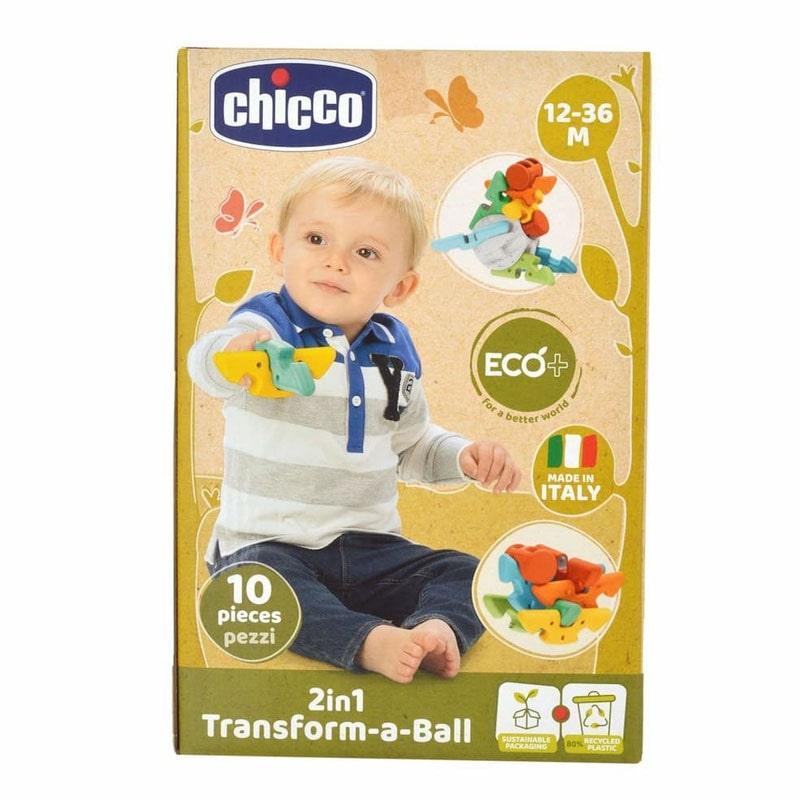 Chicco Brinquedo ECO+ Bola Tansformável 2em1 12-36M