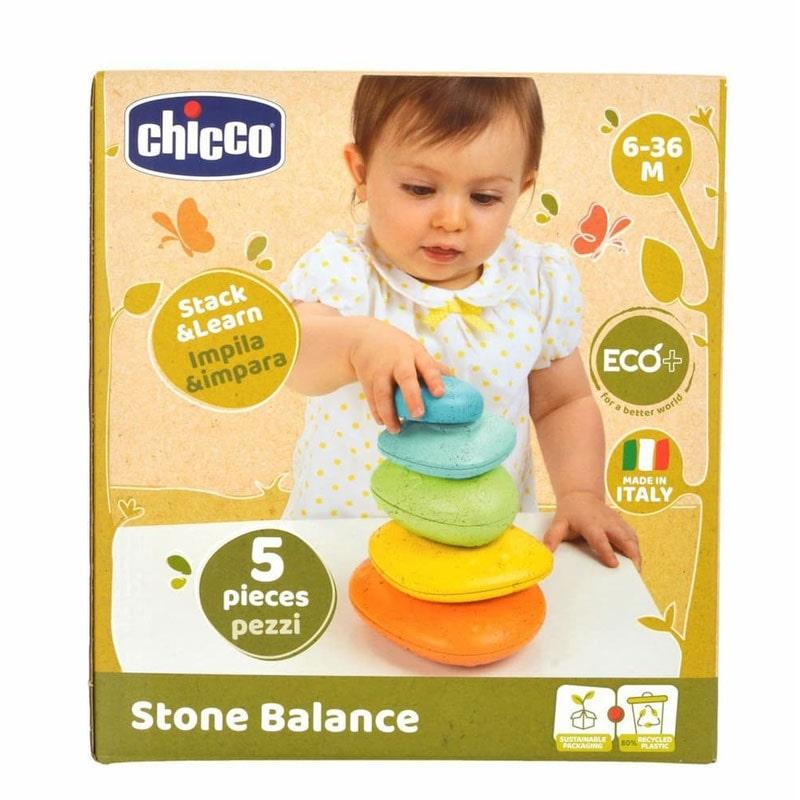 Chicco Brinquedo ECO+ Pedras Empilháveis 6-36M