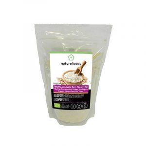 Nature Foods Farinha de Aveia Sem Glúten Bio 500g