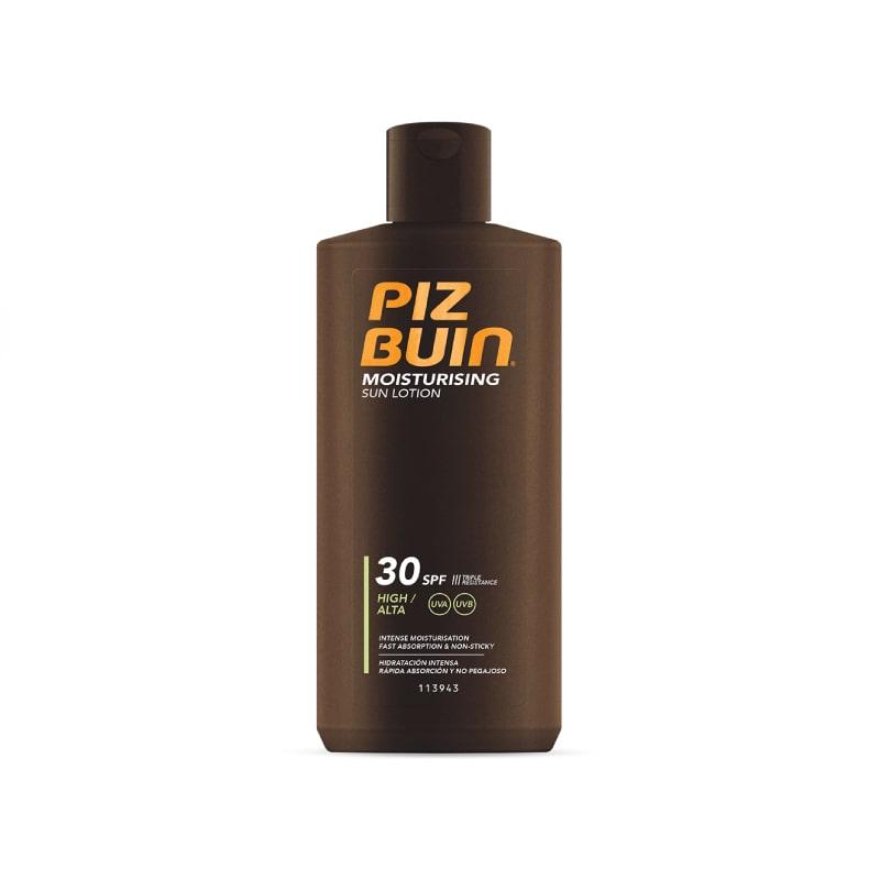 Piz Buin Moisturizing Loção Solar Hidratante 200ml FPS 30+